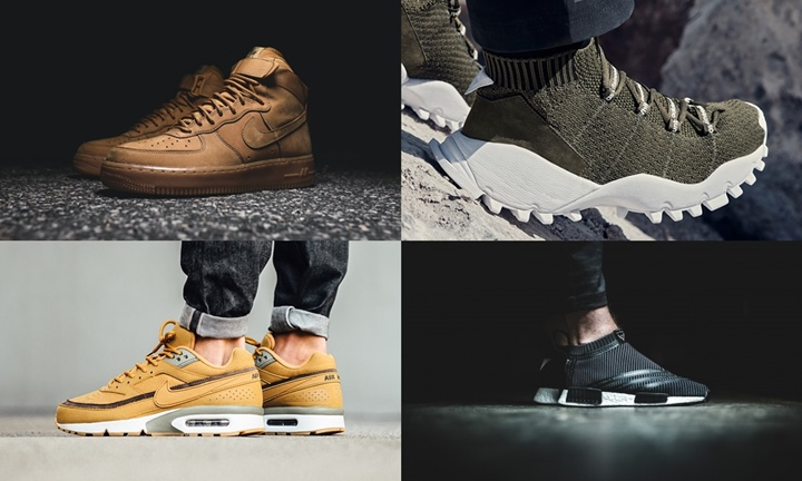 "【まとめ】10/27発売の厳選スニーカー!(NIKE AIR FORCE 1 HIGH ""FLAX"" 2016)(AIR MAX BW ""Bronze/Flux"")(adidas Originals by White Mountaineering 2016 F/W NMD_CS1 SEEULATER FORUM MID)他"