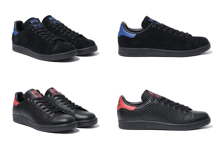 ABC-MART限定!ブラックの上質な素材をアッパーに使用したアディダス オリジナルス スタンスミス 2カラーが10/29から発売! (adidas Originals STAN SMITH) [S80501,2]