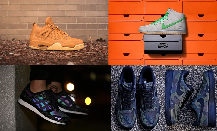 "【まとめ】10/29発売の厳選スニーカー!(NIKE AIR JORDAN 4 PREMIUM ""GINGER"")(DUNK SB HIGH ""Gray Box"")(atmos/sports lab by atmos Exclusive NIKE AIR FORCE 1 07 LV8 ""KAHKI/BLACK"")(ATMOS ASICS Tiger GEL-LYTE III ""MIDNIGHT TOKYO"")他"