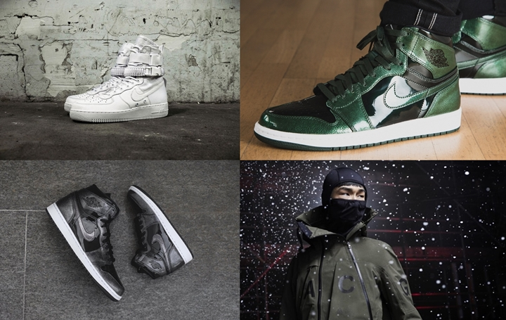 "【まとめ】12/1発売の厳選スニーカー!(NIKELAB ACG 2016 HOLIDAY)(NIKE Special Field Air Force 1 ""Triple White"")(NIKE AIR JORDAN 1 RETRO HIGH)(NIKE CLASSIC CORTEZ LEATHER QS ""Nai Ke"")他"