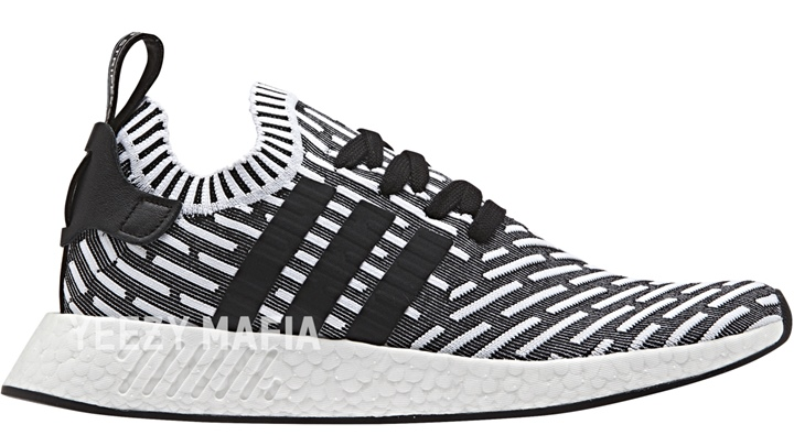 "adidas Originals NMD_R2 PRIMEKNIT {PK} ""Core Black/Shock Pink"" (アディダス オリジナルス エヌ エム ディー プライムニット ""コア ブラック/ショック ピンク"") [BA7196]"
