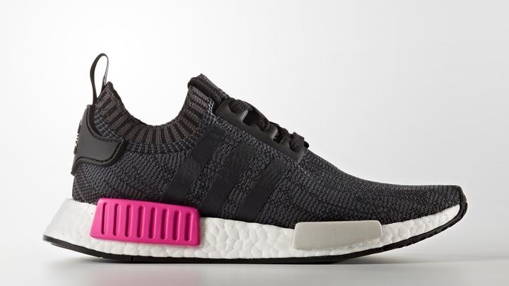 "adidas Originals WMNS NMD_R1 PRIMEKNIT {PK} ""Black/Pink"" (アディダス オリジナルス エヌ エム ディー プライムニット ""ブラック/ピンク"") [BB2364]"