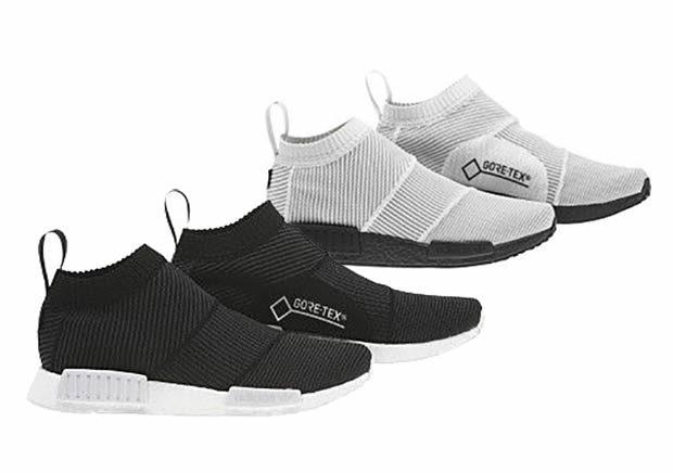 """adidas Originals NMD_CS1 PK GORE-TEX """"White/Black"""" {CITY SOCK PRIMEKNIT} (アディダス オリジナルス エヌ エム ディー シティ ソック プライムニット ゴアテックス """"ホワイト/ブラック"""") [BY9404,5]"""