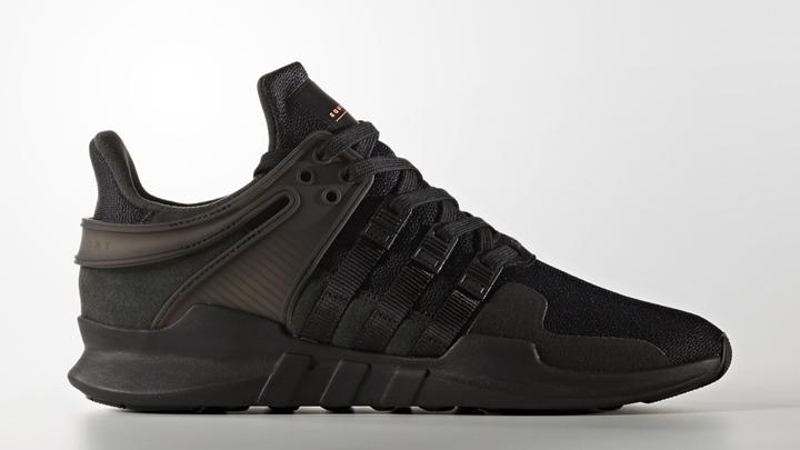 """アディダス オリジナルス エキップメント サポート ADV """"ブラック/ブラック"""" (adidas Originals EQT SUPPORT ADV """"Black/Black"""") [BB1304]"""