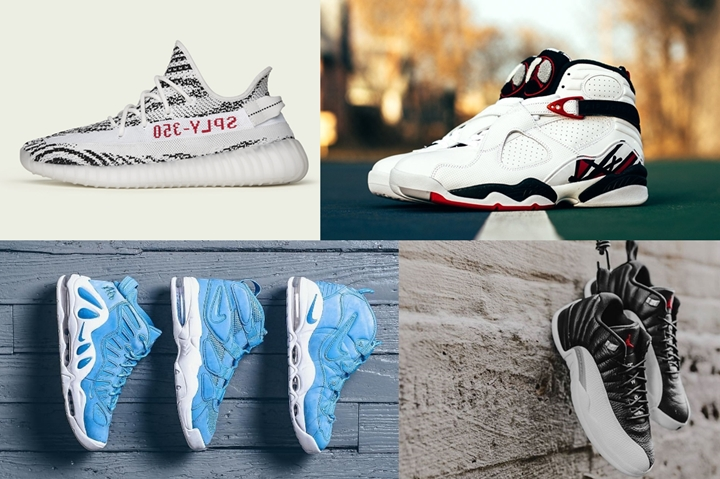 "【まとめ】2/25発売の厳選スニーカー!(adidas Originals YEEZY 350 BOOST V2 ""Zebra – White/Core Black/Red"")(NIKE AIR JORDAN 8 ""Alternate"")(AIR JORDAN 12 LOW ""Play Off"")(AIR MAX UPTEMPO AS QS ""University Blue"")他"