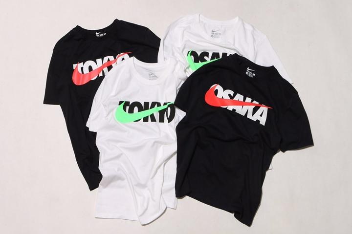 3/1発売!NIKE TOKYO/OSAKA SWOOSH PRINT TEE (ナイキ トウキョウ/オオサカ スウッシュ プリント ティ)
