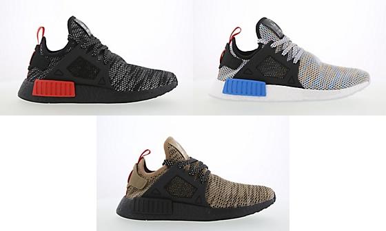 """3/27発売!adidas Originals NMD_XR1 """"Black/Bright Blue/Cardboard"""" (アディダス オリジナルス エヌエムディー エックス アール) [S76849,50][BY9901]"""