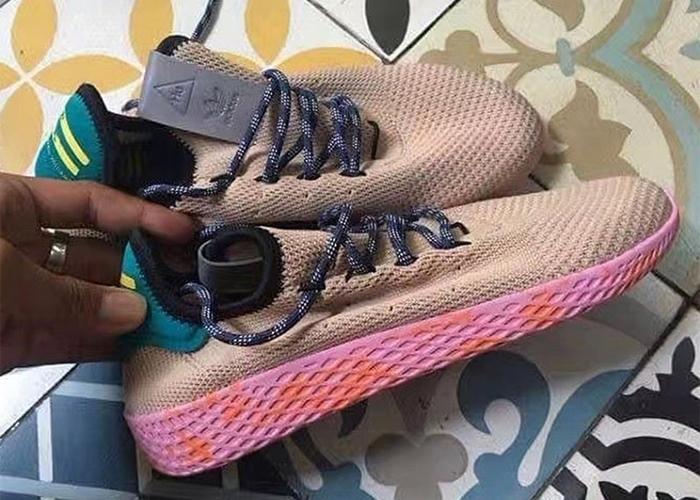 "Pharrell Williams x adidas Originals Human Race ""Tan/Pink"" (ファレル・ウィリアムス アディダス オリジナルス ヒューマン レース ""タン/ピンク"")"