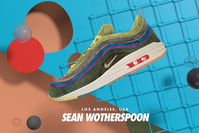 投票1位は「Sean Wotherspoon - ショーン・ワザーズプーン」ナイキ エア マックス 97 + 1のハイブリッドデザイン!2018年3月26日辺りにリリース決定! (NIKE AIR MAX)