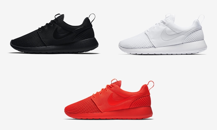 "ナイキ ローシ ワン SE 3カラー (NIKE ROSHE ONE SE ""Black/White/Bright Crimson"") [844687-005,102,602]"