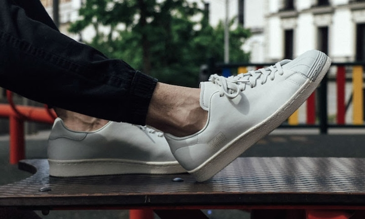 "adidas Originals SUPERSTAR 80s CLEAN ""Crystal White"" (アディダス オリジナルス スーパースター 80s クリーン ""クリスタル ホワイト"") [BB0169]"