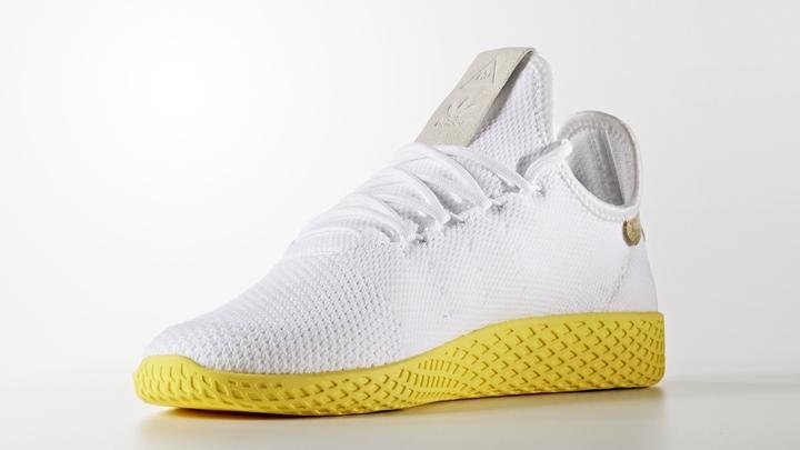"""5/6発売!Pharrell Williams x adidas Originals Human Race Tennis HU """"White/Yellow"""" (ファレル・ウィリアムス アディダス オリジナルス ヒューマン レース テニス """"ホワイト/イエロー"""") [BY2674]"""