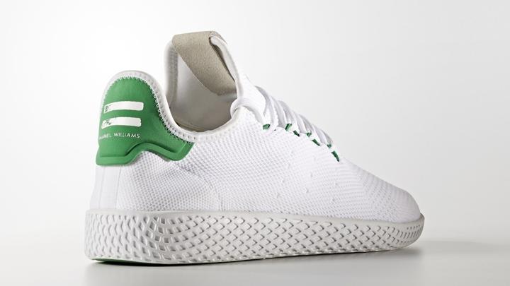 """5月発売!Pharrell Williams x adidas Originals Human Race Tennis HU """"White/Green"""" (ファレル・ウィリアムス アディダス オリジナルス ヒューマン レース テニス """"ホワイト/グリーン"""") [BA7828]"""