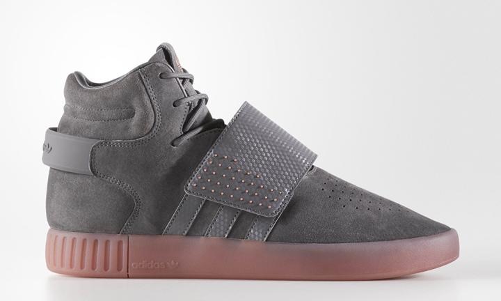 """アディダス オリジナルス チュブラー インベーダー ストラップ """"グレー フォー"""" (adidas Originals TUBULAR INVADER STRAP """"Grey Four"""") [BY3634]"""