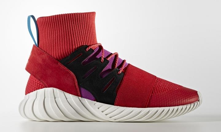 "adidas Originals TUBULAR DOOM PRIMEKNIT {PK} ""Scarlet"" (アディダス オリジナルス チュブラー ドゥーム プライムニット ""スカーレット"") [BY9397]"