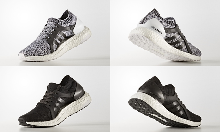 """10/25発売予定!adidas ULTRA BOOST X """"White/Core Black"""" (アディダス ウルトラ ブースト アンケージド """"ホワイト/コア ブラック"""") [CG2977,2978]"""