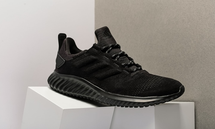 "adidas ALPHA BOUNCE CR ""Triple Black"" (アディダス アルファ バウンス CR ""トリプル ブラック"") [DA9934]"
