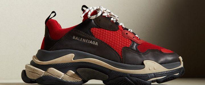 【ENDにてリリースアナウンス】 BALENCIAGA Triple-s 2018 S/Sモデル (バレンシアガ トリプル ソール 2018年 春夏モデル)