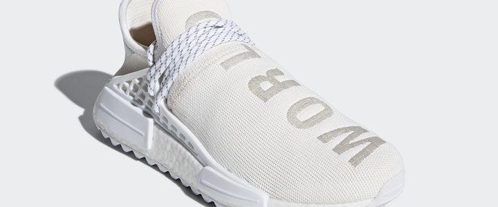 "【国内2/23発売】Pharrell Williams x adidas Originals NMD TRAIL Holi ""HUMAN RACE"" White [AC7031]"
