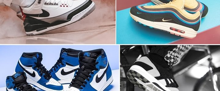 "【まとめ】3/24発売の厳選スニーカー!(NIKE AIR JORDAN 1 RETRO HIGH OG ""Game Royal"")(AIR MAX 1/97 VF SW ""Sean Wotherspoon"")(AIR JORDAN 3 RETRO ""Tinker"" White/Fire Red)"