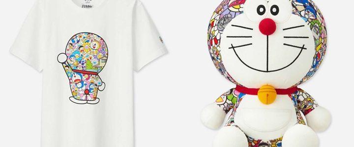 UNIQLO UT × 村上隆氏の展覧会「THE ドラえもん展 TOKYO 2017」のデザインTEEがぬいぐるみが5/25から発売 (ユニクロ)