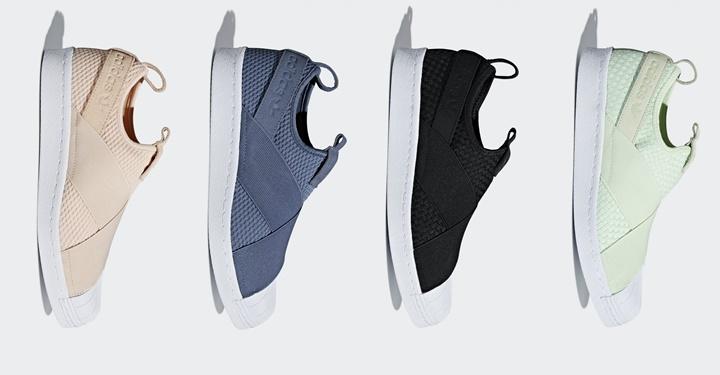 4/27発売!アディダス オリジナルス SS スリッポン 2018年 春夏モデル (adidas Originals SS Slip-On 2018 S/S) [CQ2383,2384,2487,2488]