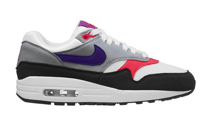 """7月発売予定!ナイキ ウィメンズ エア マックス 1 プレミアム """"ホワイト/コート パープル"""" (NIKE WMNS AIR MAX 1 PREMIUM """"White/Court Purple"""") [319986-114]"""