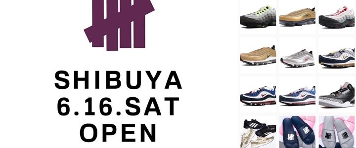 UNDEFEATED SHIBUYAが6/16にオープン (アンディフィーテッド)