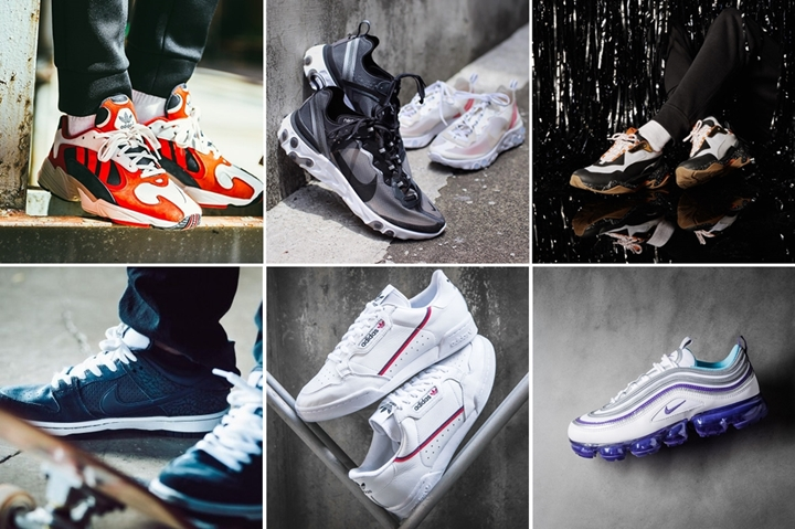 "【まとめ】6/21発売の厳選スニーカー!(NIKE REACT ELEMENT 87)(adidas Originals YUNG-1)(PUMA THUNDER ELECTRIC)(SB DUNK LOW TRD QS ""Dark Obsidian"")他"