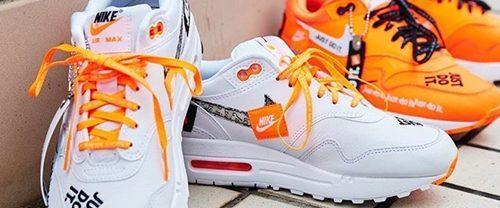 """【6/28発売】ナイキ """"ジャスト ドゥ イット"""" コレクション ウィメンズ エア マックス 1 """"ホワイト/トータル オレンジ"""" (NIKE """"JUST DO IT"""" COLLECTION WMNS AIR MAX 1 """"White/Total Orange"""") [917691-100,800]"""