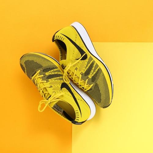 flyknit trainer bright citron