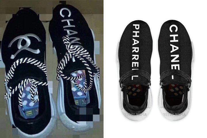 online store 9b0c1 362e9 リーク】シャネルマークが刺繍されたPharrell Williams x adidas ...