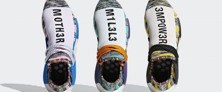 """【8/18 発売予定】Pharrell Williams x adidas Originals NMD Human """"Solar"""" (ファレル・ウィリアムス アディダス オリジナルス ヒューマン エヌエムディー ソーラー) [BB9527,9528,9531]"""