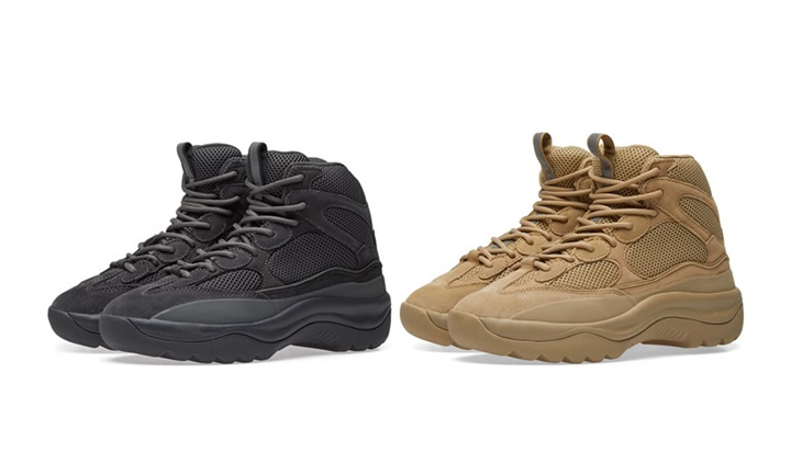"8415f7aa9a11a YEEZY SEASON 6 DESERT RAT BOOT ""Black Taupe"" (カニエ ウェスト イージー シーズン)"