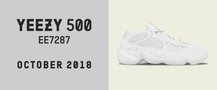 """【11/30 発売】アディダス オリジナルス イージー デザート ラット 500 """"ソルト"""" (adidas Originals YEEZY DESERT RAT 500 """"Salt"""") [EE7287]"""