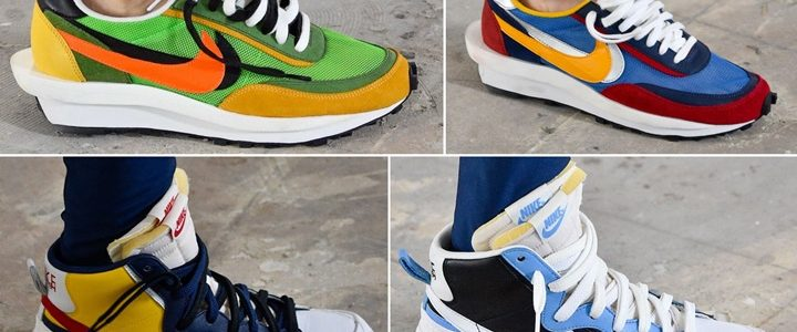 sacai × NIKE 最新コラボシューズが2019 春夏コレクションにて発表 (サカイ ナイキ)