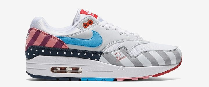"【7/21 発売】パイエット・パーラ × ナイキ エア マックス 1 ""ホワイト/マルチカラー"" (Piet Parra NIKE AIR MAX 1 ""White/Multi"") [AT3057-100]"
