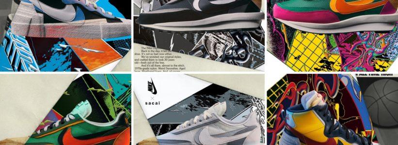 """【5/16 発売】Sacai × Nike """"LVD with WAFFLE DAYBREAK"""" (サカイ ナイキ)"""