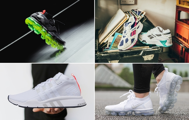 "【まとめ】7/19発売の厳選スニーカー!(NIKE AIR VAPORMAX FLYKNIT UTILITY ""Black/Volt"")(AIR VAPORMAX 2.0 FLYKNIT ""White/Vast Grey"")(REEBOK AZTREK OG)(adidas Originals EQT SUPPORT)他"