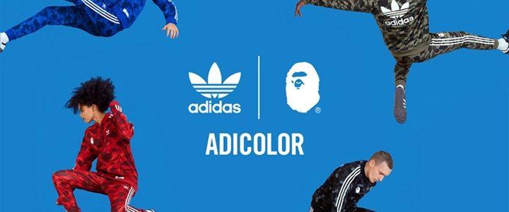 【7/28 発売】adidas Originals by A BATHING APE アディダスのアパレル「adicolor」 (アディダス オリジナルス バイ ア ベイシング エイプ)