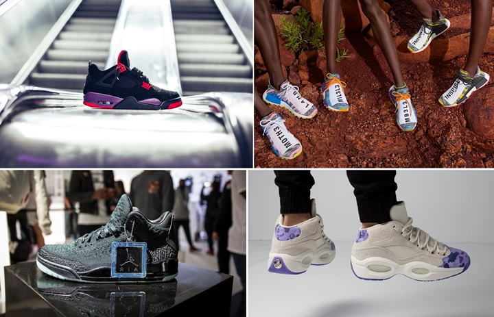 "【まとめ】8/18 発売の厳選スニーカー!(Pharrell Williams x adidas Originals NMD Human ""Solar"")(NIKE AIR JORDAN 3 FLYKNIT ""Black/Anthracite"")(AIR JORDAN 4 NRG ""Black/Court Purple"")(Cam'ron × REEBOK QUESTION MID ""Purple Camo"")他"