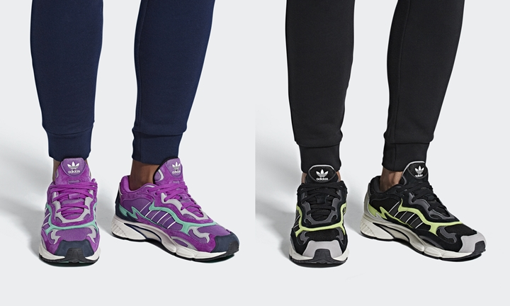 "adidas Originals TEMPER RUN ""Shock purple/Core Black"" (アディダス オリジナルス テンパー ラン) [F97208,97209]"