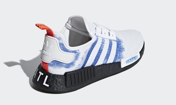 """adidas Originals NMD_R1 ATL """"White/Blue/Black"""" (アディダス オリジナルス エヌ エム ディー ATL """"ホワイト/ブルー/ブラック"""") [G28731]"""
