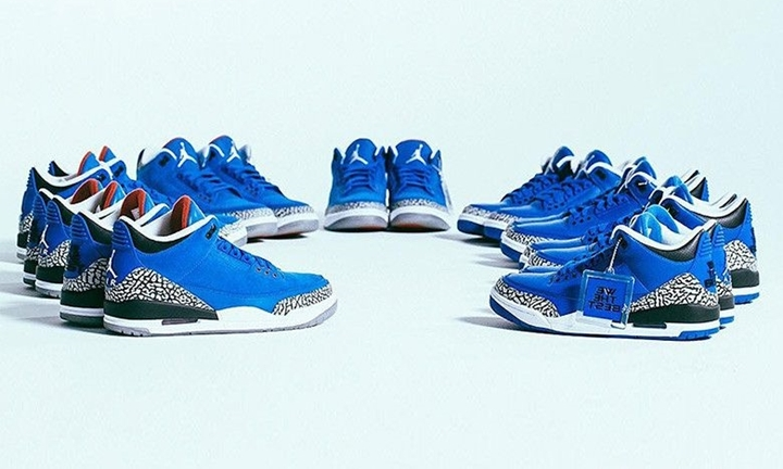 "レザーとスエードの異なる素材を使用した DJ キャレド × ナイキ エア ジョーダン 3 ""Father of Asahd"" ""Another One"" (DJ KHALED x NIKE AIR JORDAN 3)er of Asahd"" ""Another One"" (DJ KHALED x NIKE AIR JORDAN 3)"