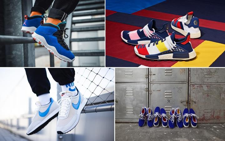 """【まとめ】10/20 発売の厳選スニーカー!(NIKE AIR JORDAN 10 RETRO """"Tinker"""" """"Racer Blue/Black"""")(Pharrell Williams x BILLIONAIRE BOYS CLUB x adidas Originals)(NIKE AIR TAILWIND 79 """"Vast Grey/Light Photo Blue"""")(ENGINEERED GARMENTS × adiads Consortium ULTRA BOOST UNCAGED """"Bold Blue"""")他"""