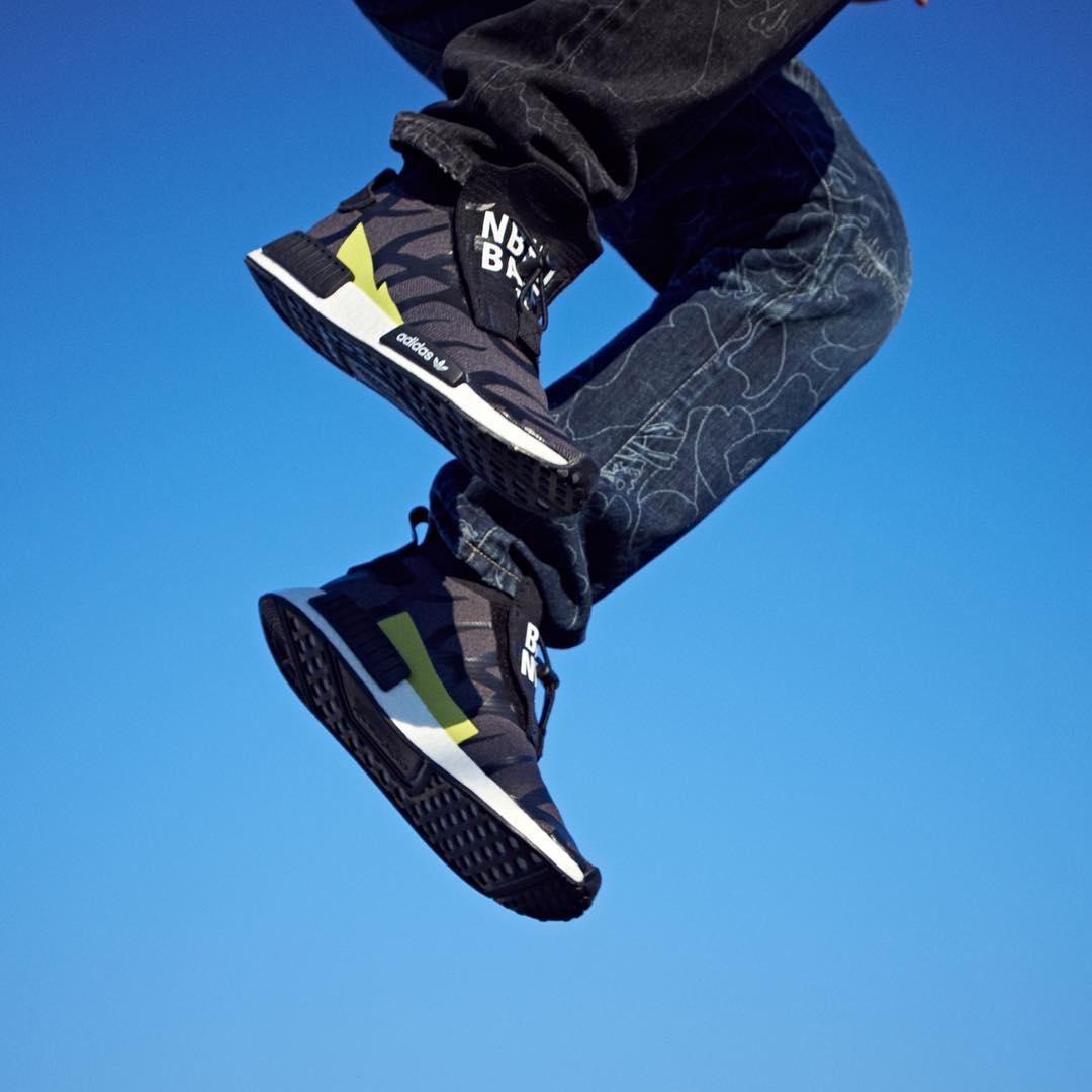 NEIGHBORHOOD × A BATHING APE × adidas Originals NMD_TS1 PRIMEKNIT {PK} (ネイバーフッド ア ベイシング エイプ アディダス オリジナルス エヌ エム ディー ティーエスワン プライムニット)