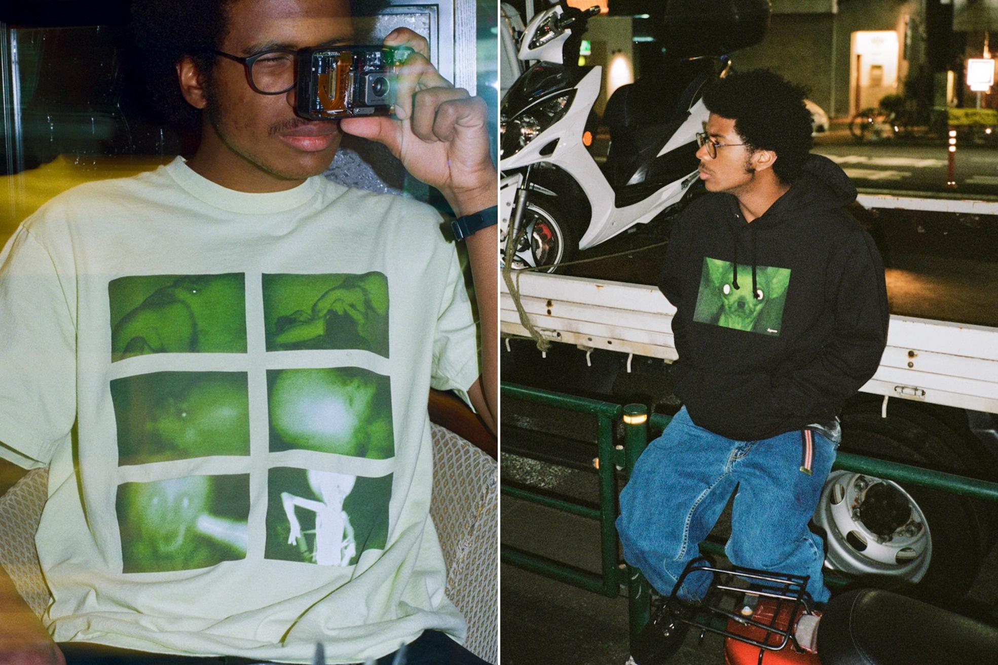国内 11/10発売!SUPREME × Chris Cunningham (シュプリーム クリス・カニンガム)