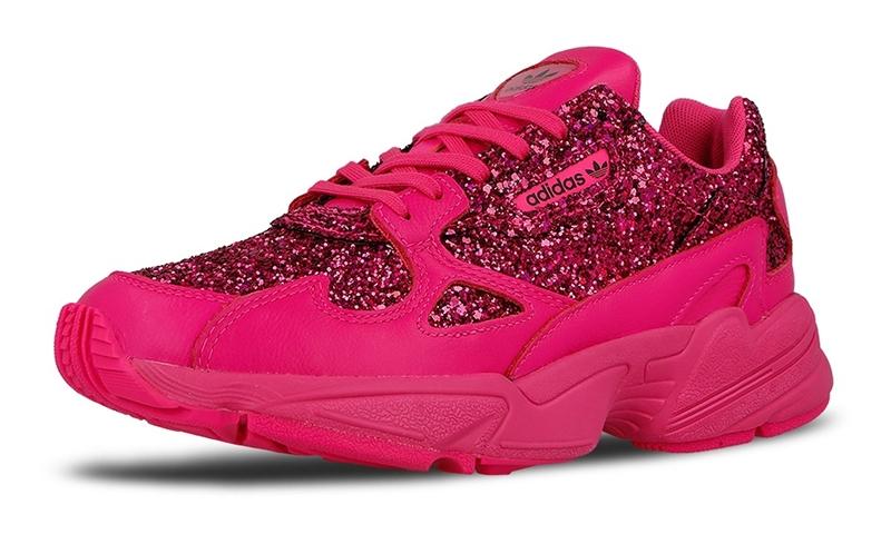 """12/6発売!adidas Originals WMNS FALCON """"Shock Pink/Purple"""" (アディダス オリジナルス ウィメンズ ファルコン """"ショックピンク/パープル"""") [BD8077]"""