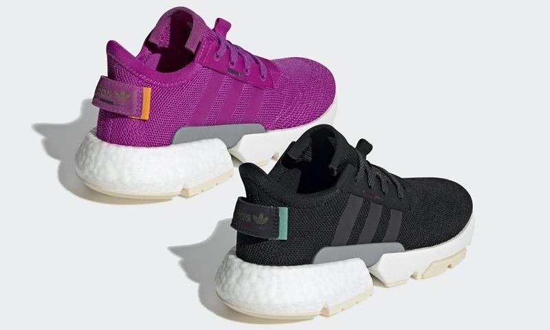 """12/15発売!adidas Originals WMNS POD-S3.1 """"Vivid Pink/Core Black"""" (アディダス オリジナルス ウィメンズ ピーオーディ) [CG6182,6183]"""