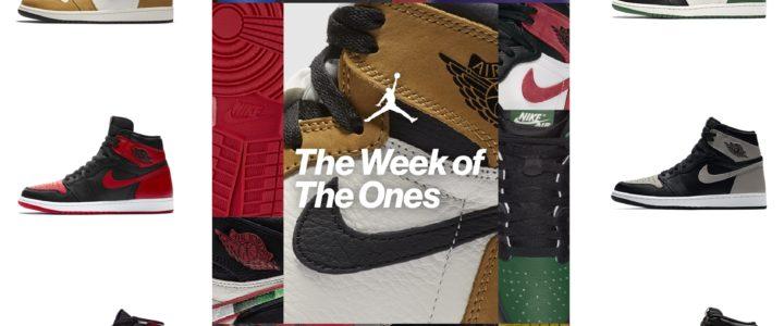 5日連続SNKRSリストック!2/18~2/22に「The Week of The Ones」が開催!